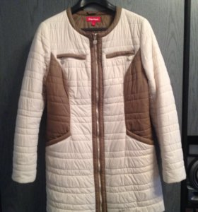 Пальто облегченое, на синтепоне,б/у