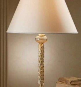 Настольная лампа. Италия. Муранское стекло