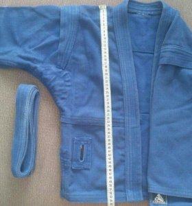 Куртки для самбо на 6-8 лет