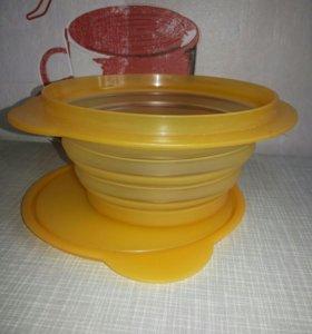 Складная чаша Tupperware