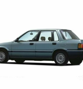 Honda Civic 1.3 МТ, 1985, седан