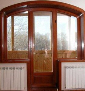 Окна. Автоматические Ворота .Обшивка балконов