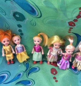 Юные куколки Барби