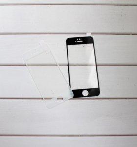 Защитные 3D стекла на iPhone 5/5s/SE