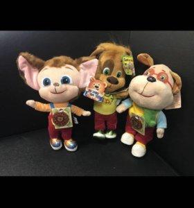 Новый набор музыкальных игрушек Барбоскины