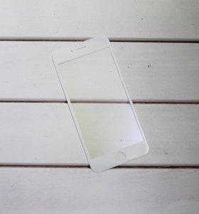 Защитное сапфировое стекло матовое iPhone 6/6s