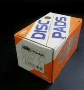 Колодки тормозные toyota nibk PN1243