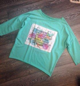 Джемпер Zara свитшот кофта свитер