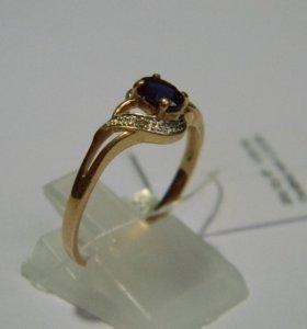 Кольцо золотое