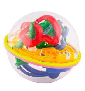 Развивающая игрушка Шар лабиринт головоломка 2+