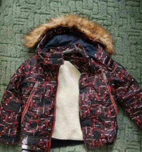 Зимняя куртка р.116