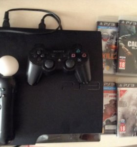 PlayStation 3 с играми