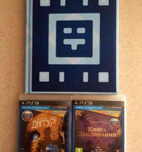 2 игры на PS3 + Wonderbook