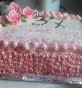 Домашние торты, на заказ