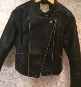 Кожаная куртка Springfield