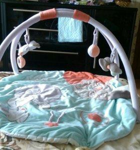 Развивающий коврик(лежак) для детей