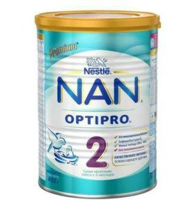 Cухая молочная смесь NAN 2 (с 6 мес.) 400 г
