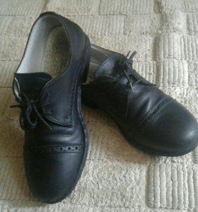 Туфли кожаный