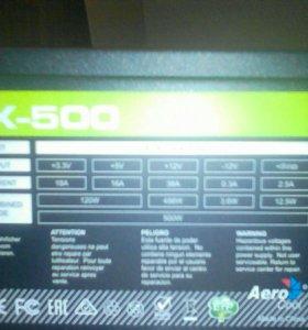 Aercool Vx 500w