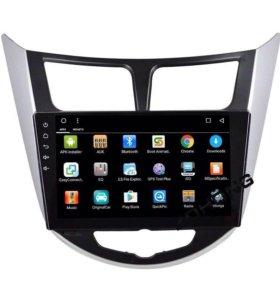 Штатная Магнитола для Hyundai Solaris Android 6.0