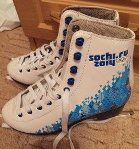 Фирменные коньки Sochi 2014 из спортмастера