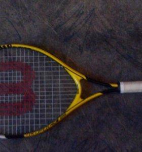 Теннисная ракетка детская