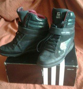 Кроссовки на танкетки Adidas Neo оригинал