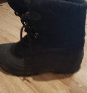 Мужские зимние ботинкт