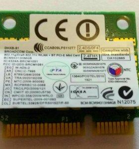 Модуль Mini PCI-E WLAN + BT