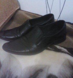 Мужские туфли(кожа)