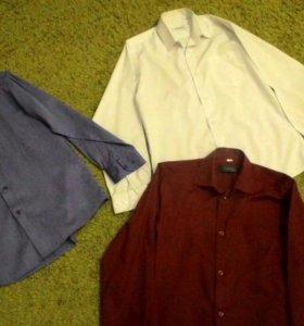 Рубашки школьные на мальчика 4 шт.каждая по 150р.