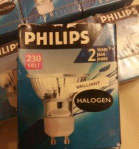 Галогеновые лампы 10 шт