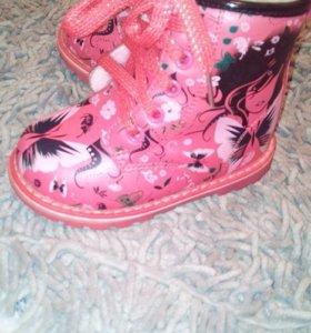 Сапожки и туфельки
