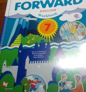 Рабочая тетрадь по английскому 7 класс