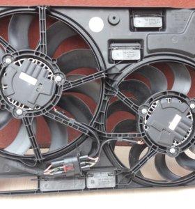 Диффузор с вентиляторами audi vw skoda