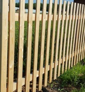 Забор (деревянный)