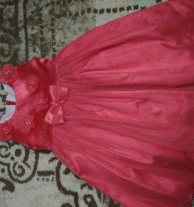 Платье с балеро для девочки