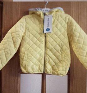 Новая куртка для девочки. На рост 116.