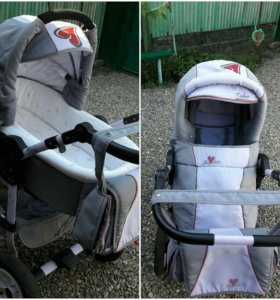 Детская коляска зима -лето