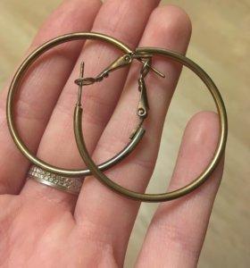 Бесплатные серьги кольца
