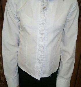 Рубашка блузка школьная форма