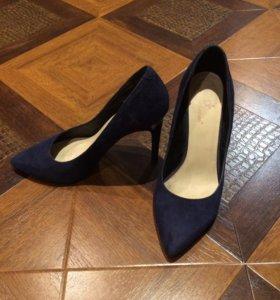Туфли 36 замшевые