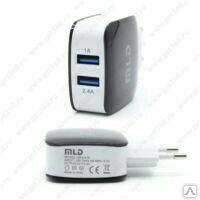 Сетевой USB адаптер MLD 3.4A Черный