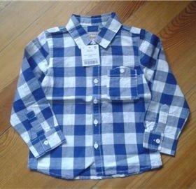 Новая рубашка Next, размер 1,5-2 года, рост 92см