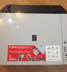 Мфу Canon pixma MP210 (сканер, копир, принтер)