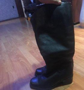 Обувь женская(натуральная кожа+цигейка)