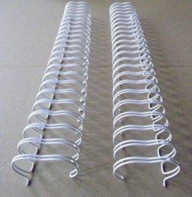 Металлические пружины для биндера (белый)