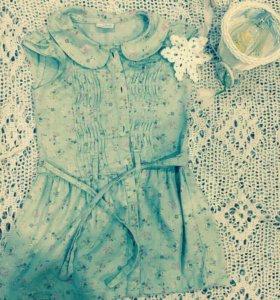Платье из денима next