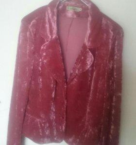 Пиджак из бархата