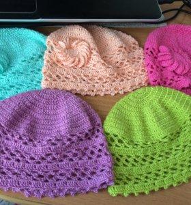 Новые шапки на лето